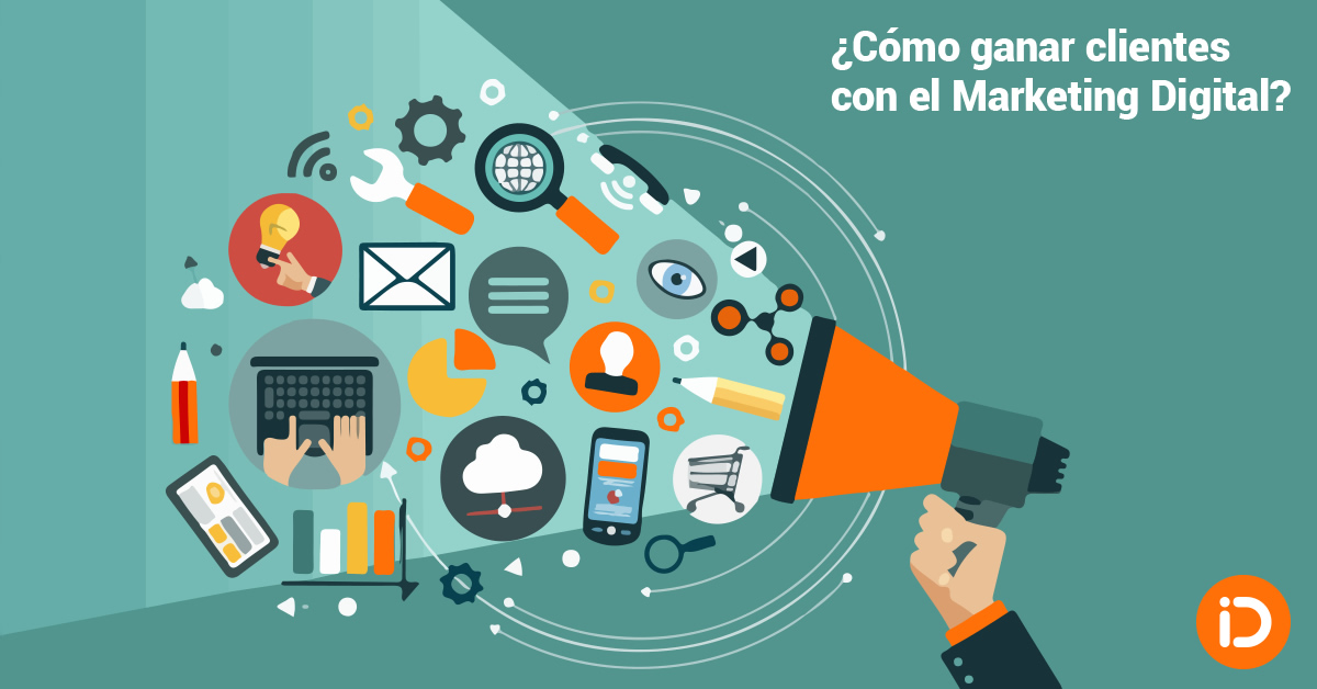 Ganar clientes con el Marketing Digital